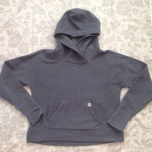 Victoria's Secret VSX Sport Gray Fleece Hoodie